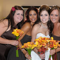 Bridesmaids, Bridesmaids Dresses, Fashion, brown, Callas