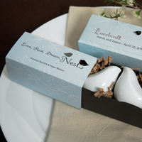 Favors & Gifts, favor, Gift, Bird, In, Love, Shakers, Package, Pepper, Salt, Weddingstar inc