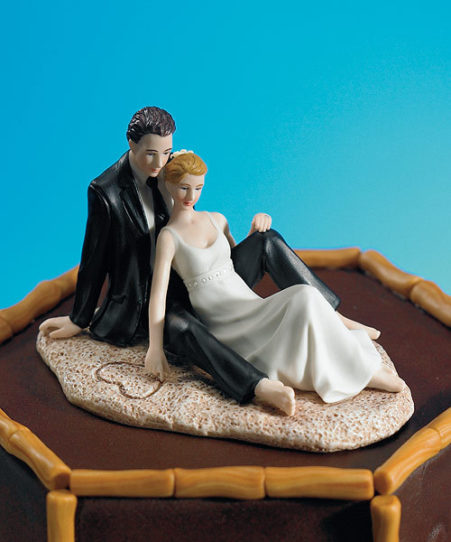 Cakes, Destinations, cake, Beach, Wedding, Romantic, Destination, Topper, Couple, Weddingstar inc