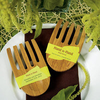 Favors & Gifts, favor, Gift, Bamboo, Set, Eco, Friendly, Server, Weddingstar inc, Environmentally
