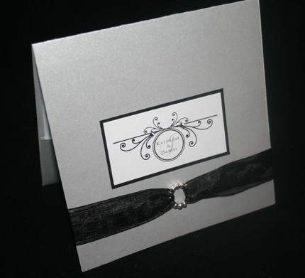 Stationery, silver, invitation, Invitations