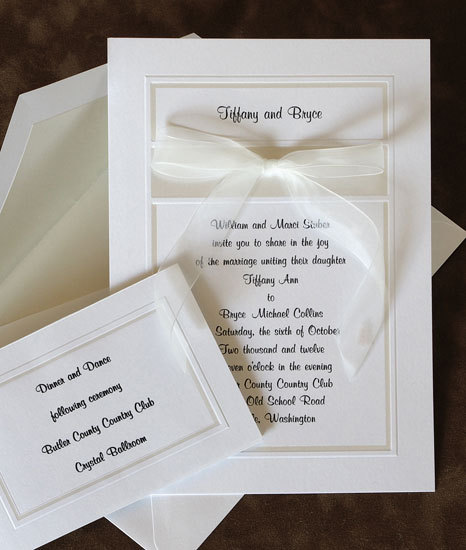 Stationery, Classic Wedding Invitations, Invitations, Simple, Cute, The american wedding