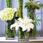 Reception, Flowers & Decor, Centerpieces, Square, Centerpiece, Wedding, Ideas, Decorations, Vases, Things festive