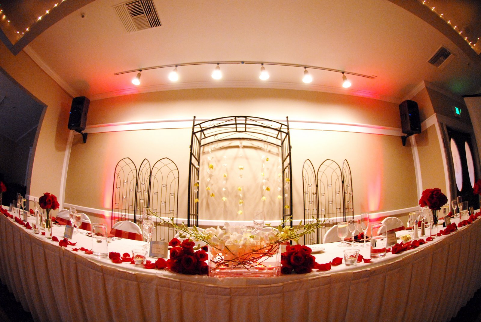 Reception, Flowers & Decor, venue, Flower, Rose, Club, Country, Events by karen lee