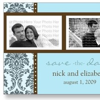 Save the date annoucement, Save the date postcard, Customized save the date