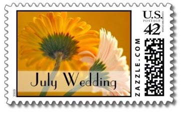 Wedding, Custom, Stamps, Postage, The wedding shoppe