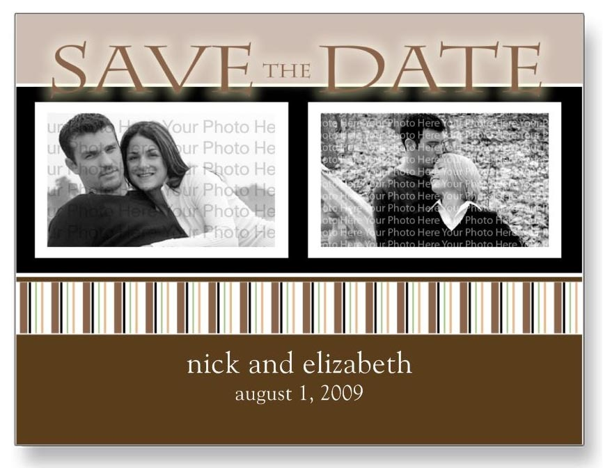 Save the date annoucement, Save the date postcard, Customized save the date, The wedding shoppe