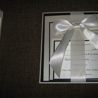 Stationery, white, black, invitation, Invitations