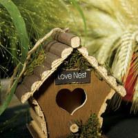 Reception, Flowers & Decor, Favors & Gifts, favor, Gift, Bird, Nest, Out, House, Love, Decoration, Door, Weddingstar inc
