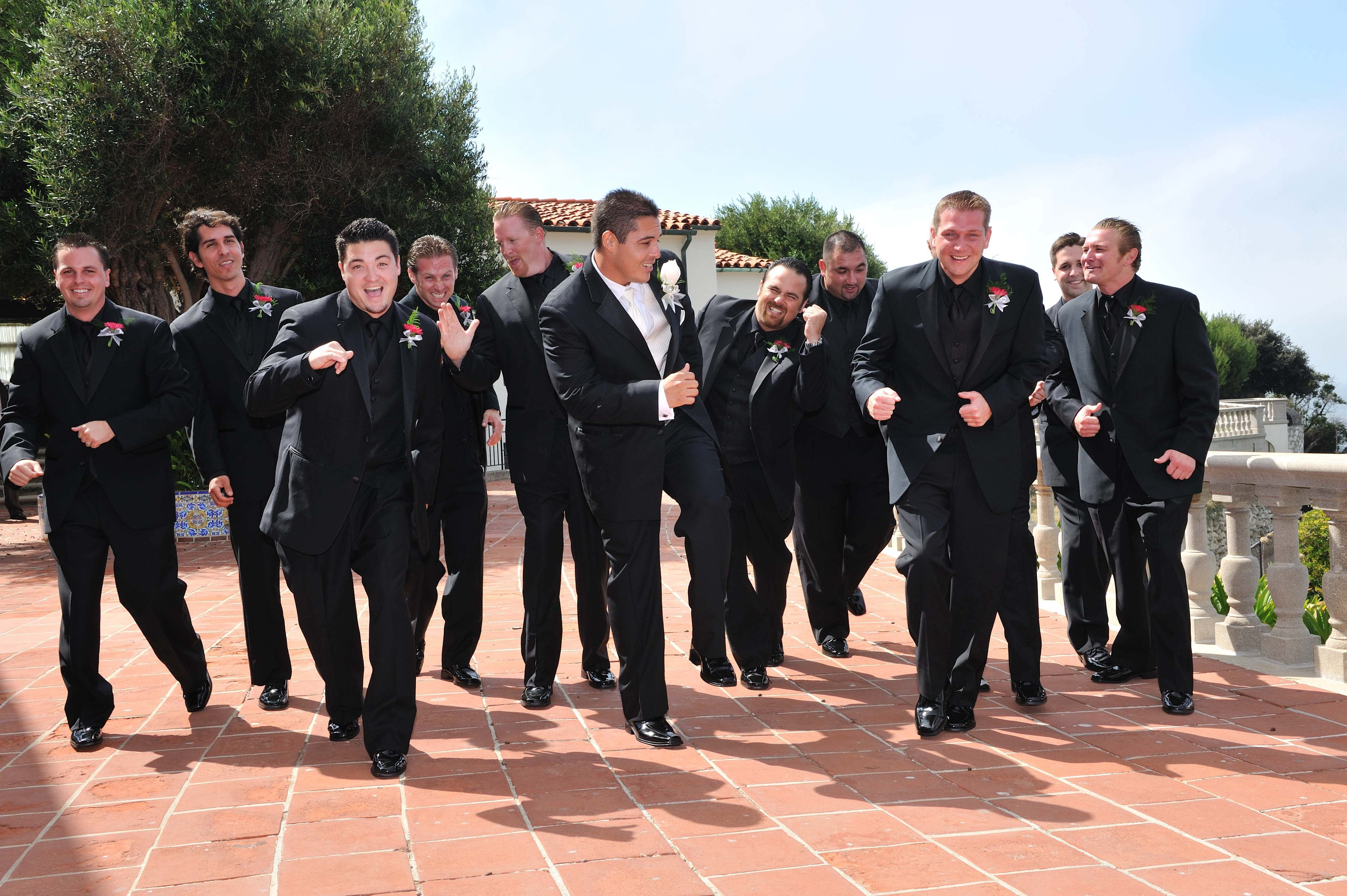 Flowers & Decor, Groomsmen, Flowers, Groom, Ocean, Running