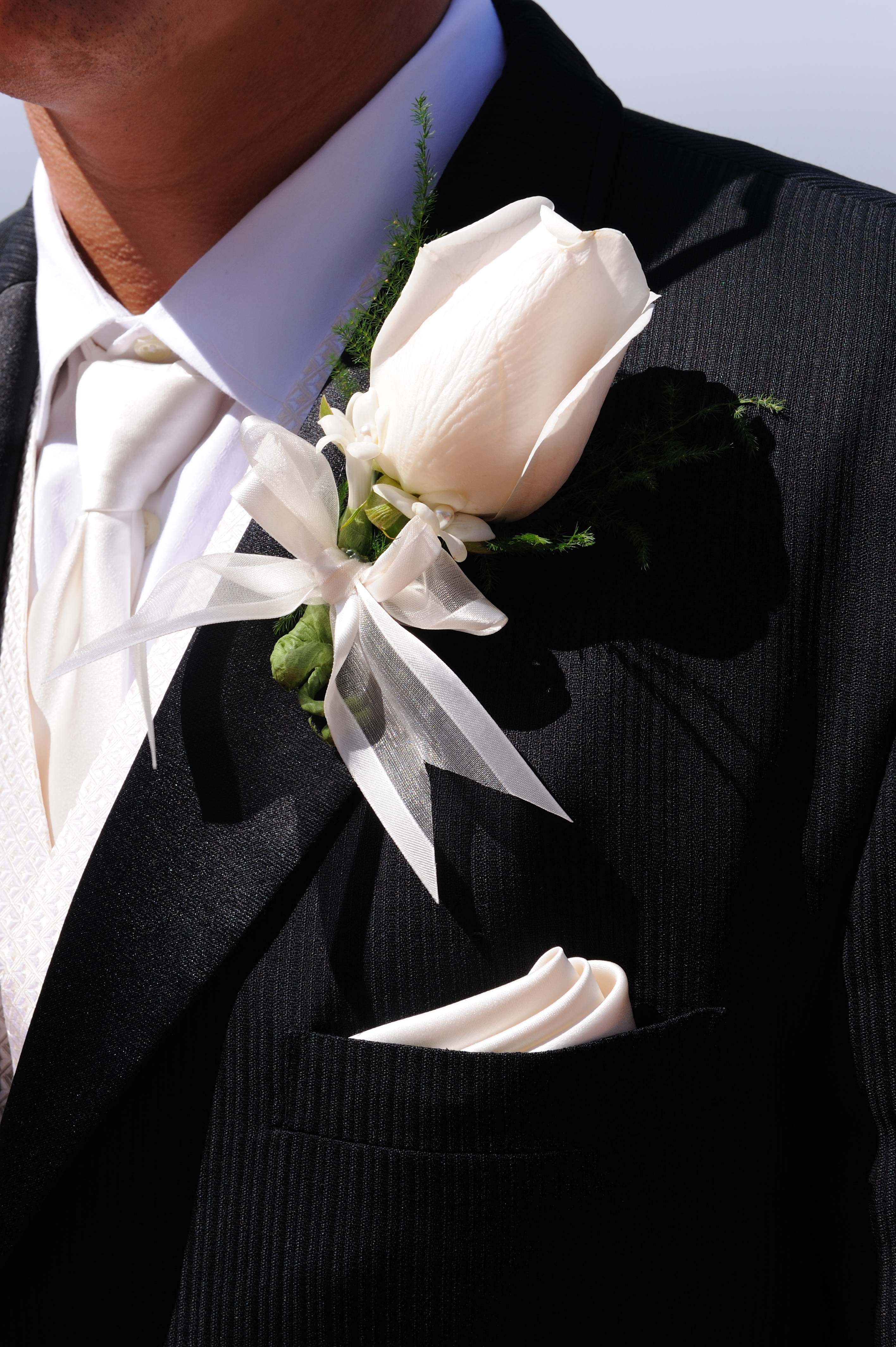 Flowers & Decor, black, Flower, Groom