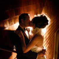 Bride, Groom, Kissing, Sausalito, Backlight, Steps, Michael muramoto photography, Low-light
