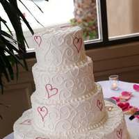 Reception, Flowers & Decor, Cakes, pink, cake, Hotel, Ballroom, Portofino