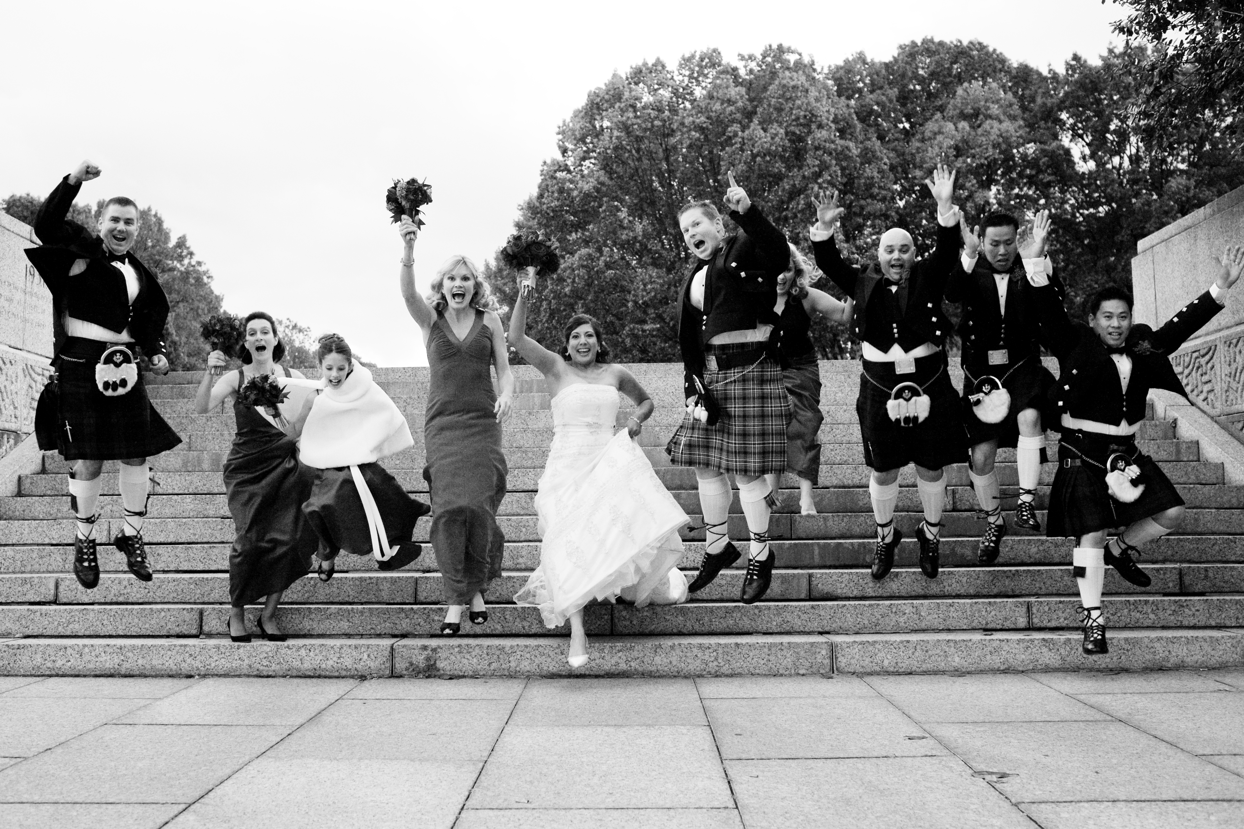 Jumping, Dc, Steps, Scottish, Kilts