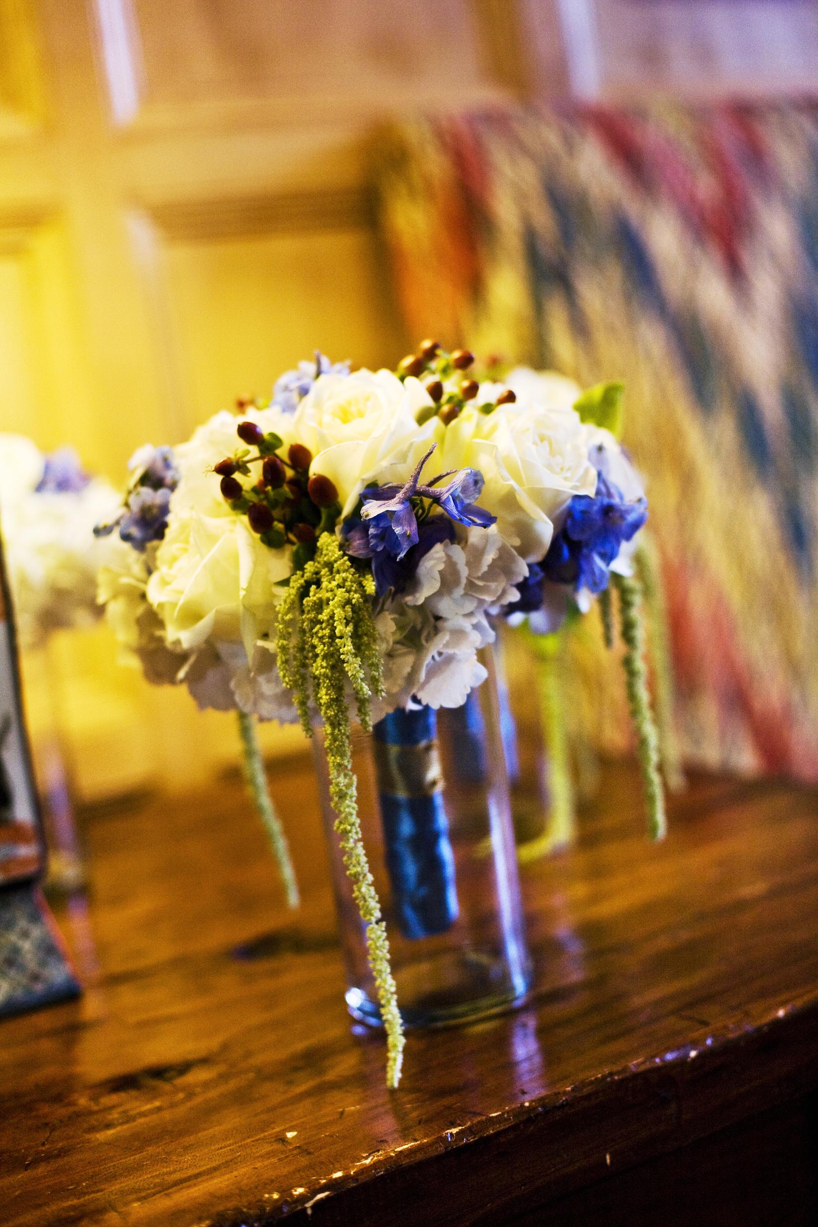 Flowers & Decor, white, blue, brown, Bride Bouquets, Bridesmaid Bouquets, Flowers, Bouquet, Bridesmaid, Megan haney designs