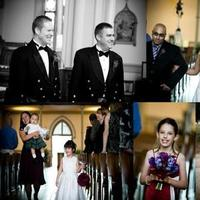 Ceremony, Flowers & Decor, red, purple, Ceremony Flowers, Bride Bouquets, Flowers, Bouquet, Flower girl, Church, Ring bearer, Dc, Bagpiper