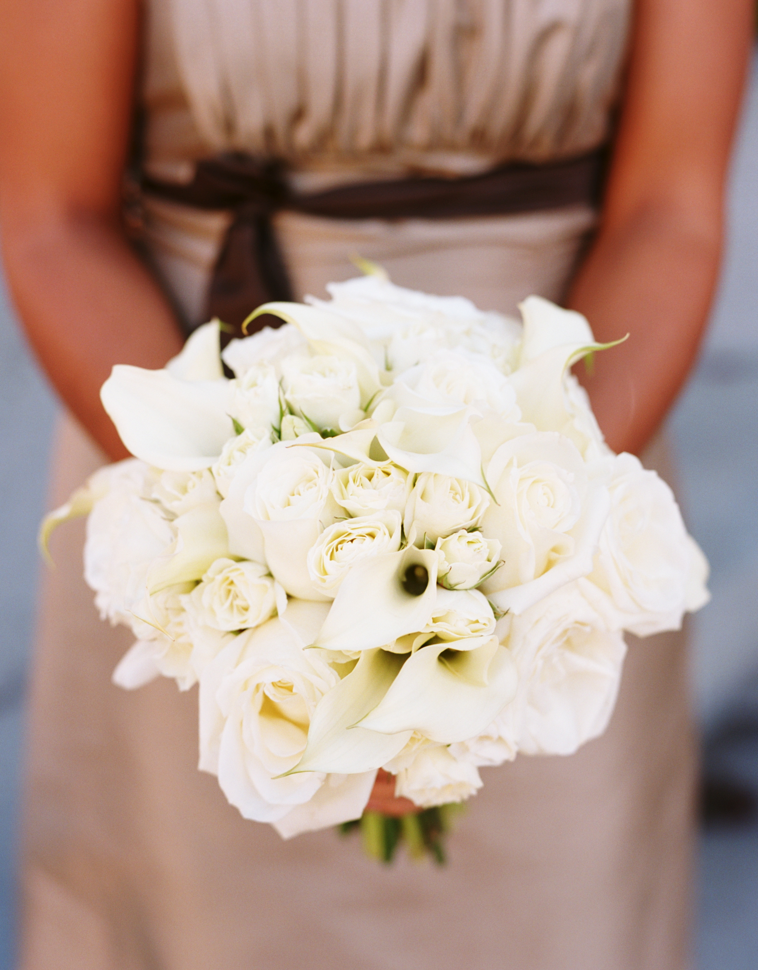 white, Bridesmaid Bouquets, Classic Wedding Flowers & Decor