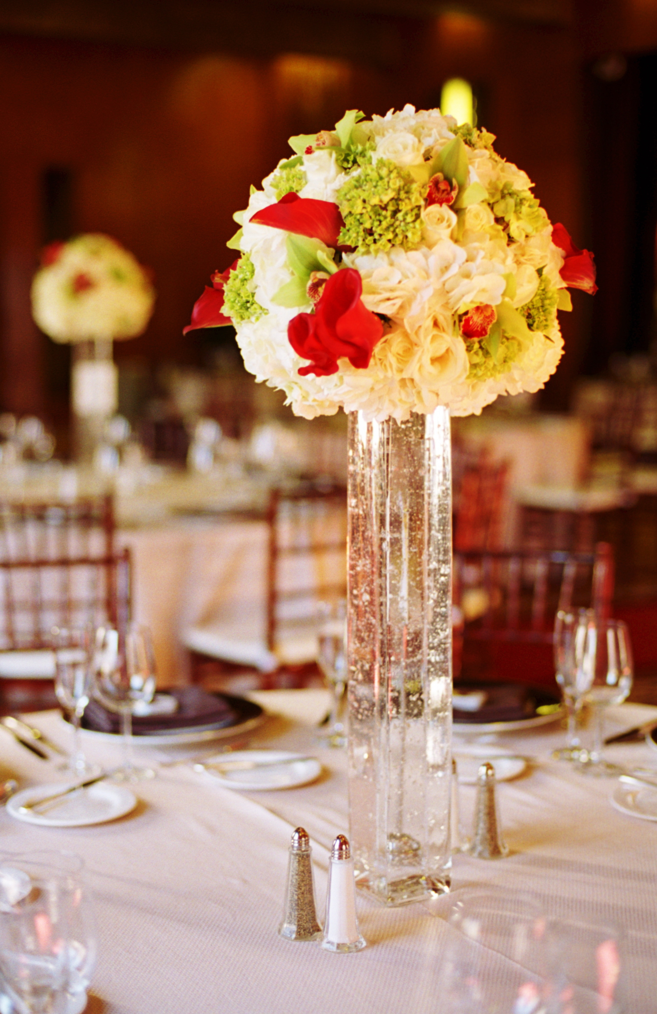 Reception, Flowers & Decor, Decor, Centerpieces, Flowers, City, Centerpiece, Wedding, Romantic, San, Francisco, Vases
