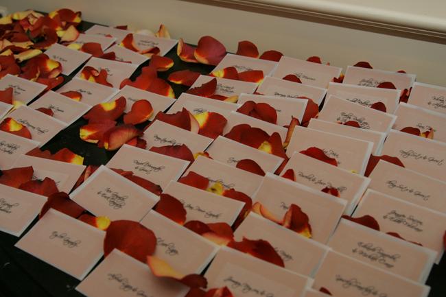 Cards, Petals, Place