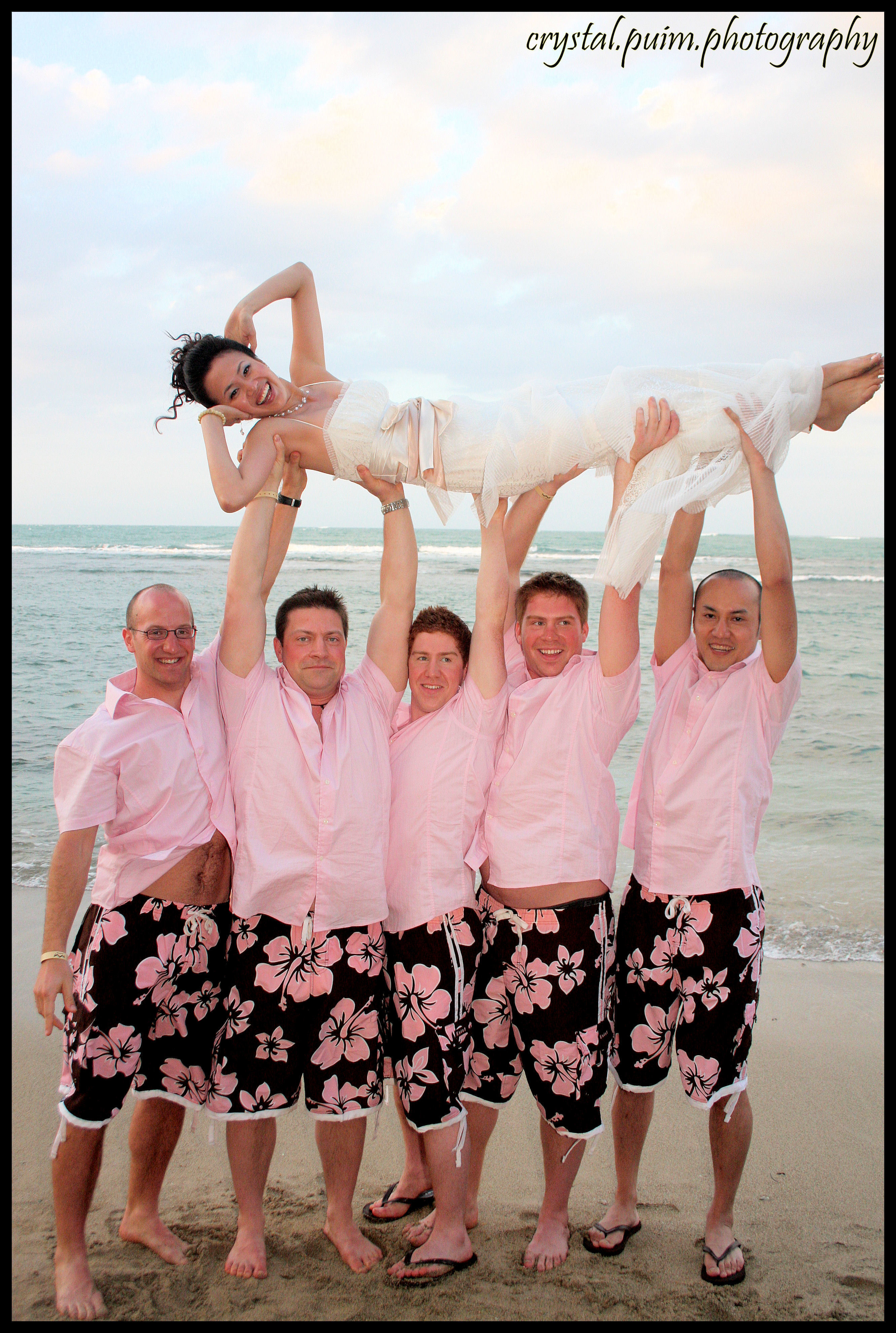 Beach, Groomsmen, Bride, Fun, Crystal, Photos, Formals, Crystalpuimphotography, Puim, Dominican