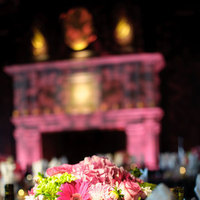 Flowers & Decor, pink, Centerpieces, Lighting, Flowers, Centerpiece, Table setting, San francisco, Fireplace, Michael muramoto photography, Julia morgan, Merchants exchange
