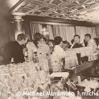 Bride, Groom, Bar, San francisco, Sepia, Michael muramoto photography, Julia morgan, Merchants exchange