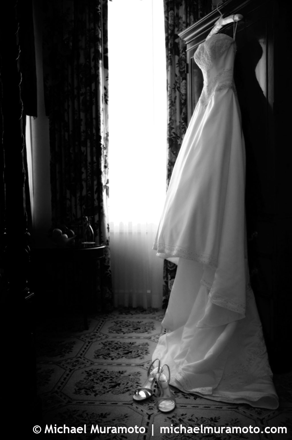 Wedding Dresses, Shoes, Fashion, dress, Black and white, Bw, Michael muramoto photography