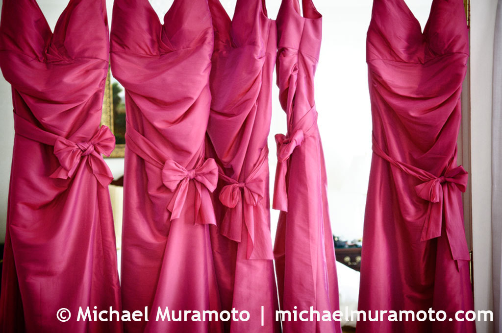 Bridesmaids Dresses, Wedding Dresses, Fashion, pink, dress, Bridesmaid, Michael muramoto photography
