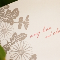 Flowers & Decor, Stationery, pink, Garden, Ceremony Programs, Programs, Wedding, Asian, Japanese, Paper goods