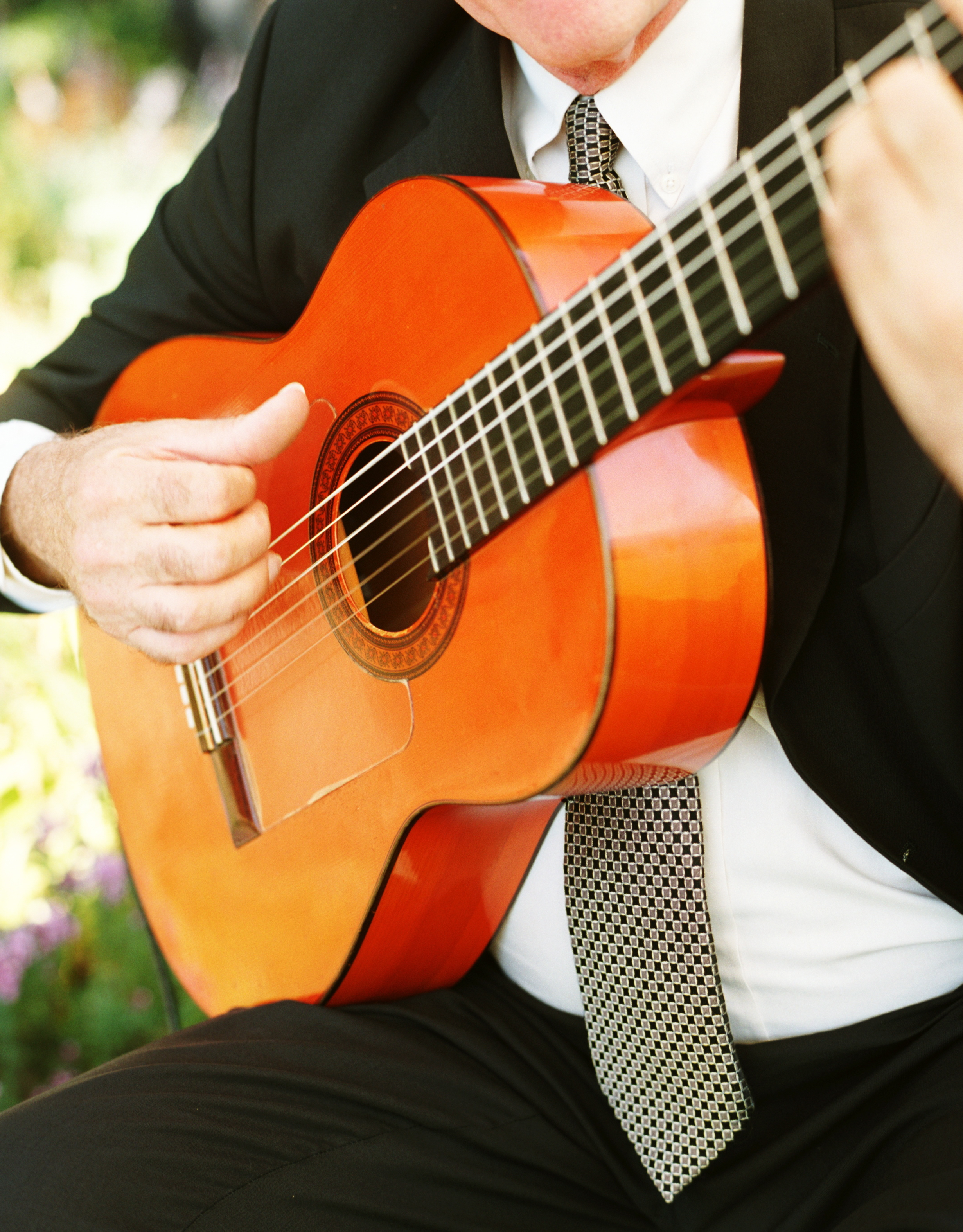 Ceremony, Flowers & Decor, yellow, Wedding, Music, Guitarist, Farm, Sonoma valley