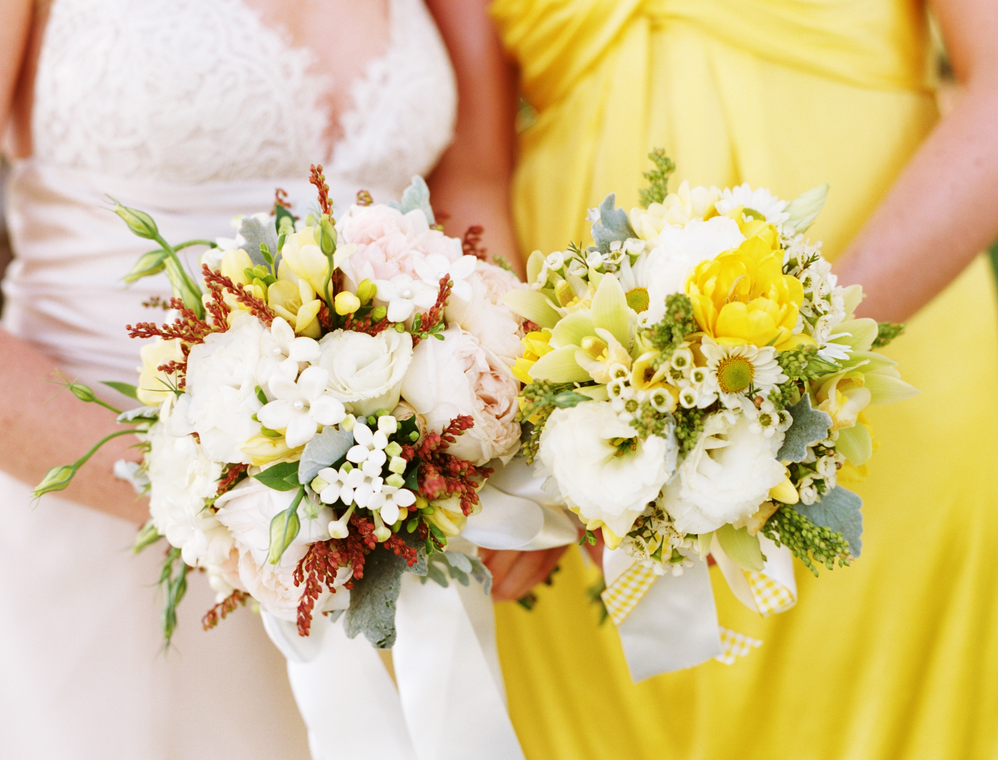 Flowers & Decor, yellow, Flowers, Wedding, Bouquets, Farm