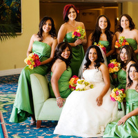Bridesmaids, Bridesmaids Dresses, Fashion, Down, Bride, Wedding, Make-up, Hairstyle, Hairstyles