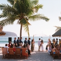Ceremony, Flowers & Decor, Destinations, yellow, blue, Destination Weddings, Mexico, Beach Weddings, Wedding, Nautical, Navy, Mexico weddings, The tides zihuatanejo