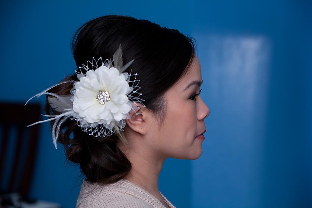 Beauty, Flowers & Decor, Makeup, Accessories, Flower, Hair, Giao, Nguyen