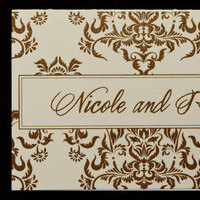 Stationery, gold, invitation, Invitations, You, Thank, Note, Proskalo inc