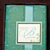 Stationery, green, black, invitation, Invitations, Teal, Box, Turquoise, Proskalo inc
