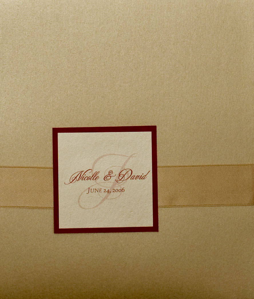Stationery, ivory, red, invitation, Invitations, Champagne, Ribbon, Pocket, Proskalo inc