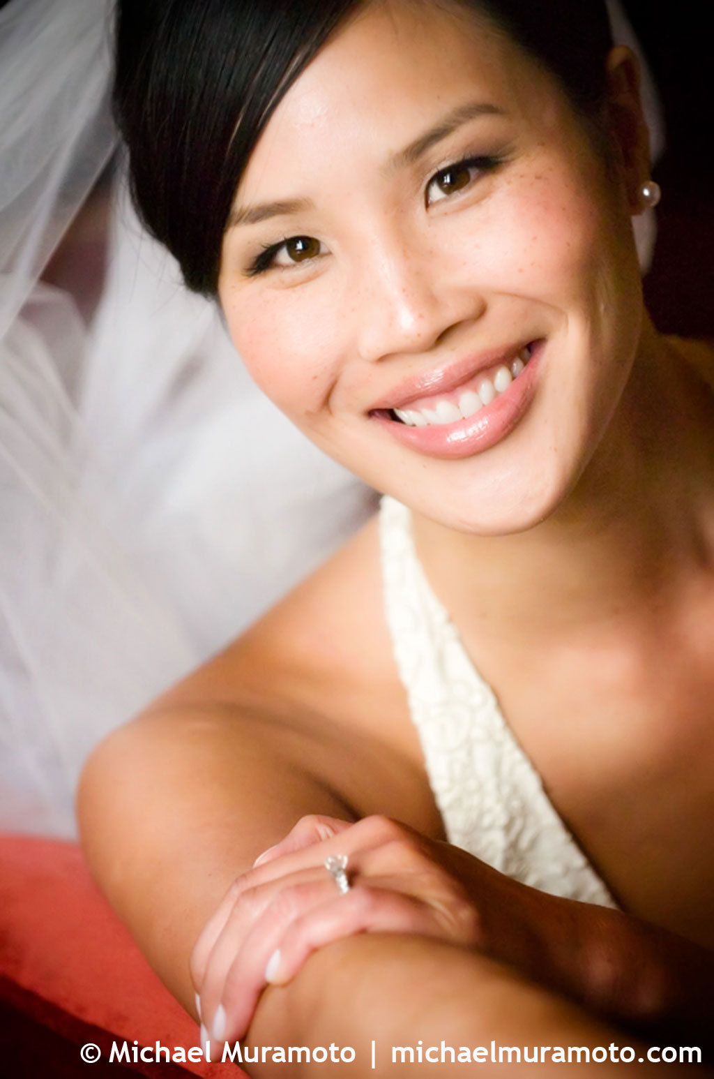 Bride, Portrait, Window, San francisco, Michael muramoto photography, City club