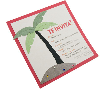 Stationery, red, invitation, Invitations, Spanish, Zyrik invitations