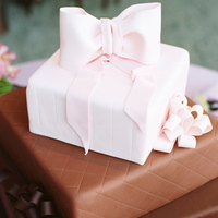 Reception, Flowers & Decor, Cakes, pink, brown, cake, Vineyard, Vineyard Wedding Cakes, Wedding, And