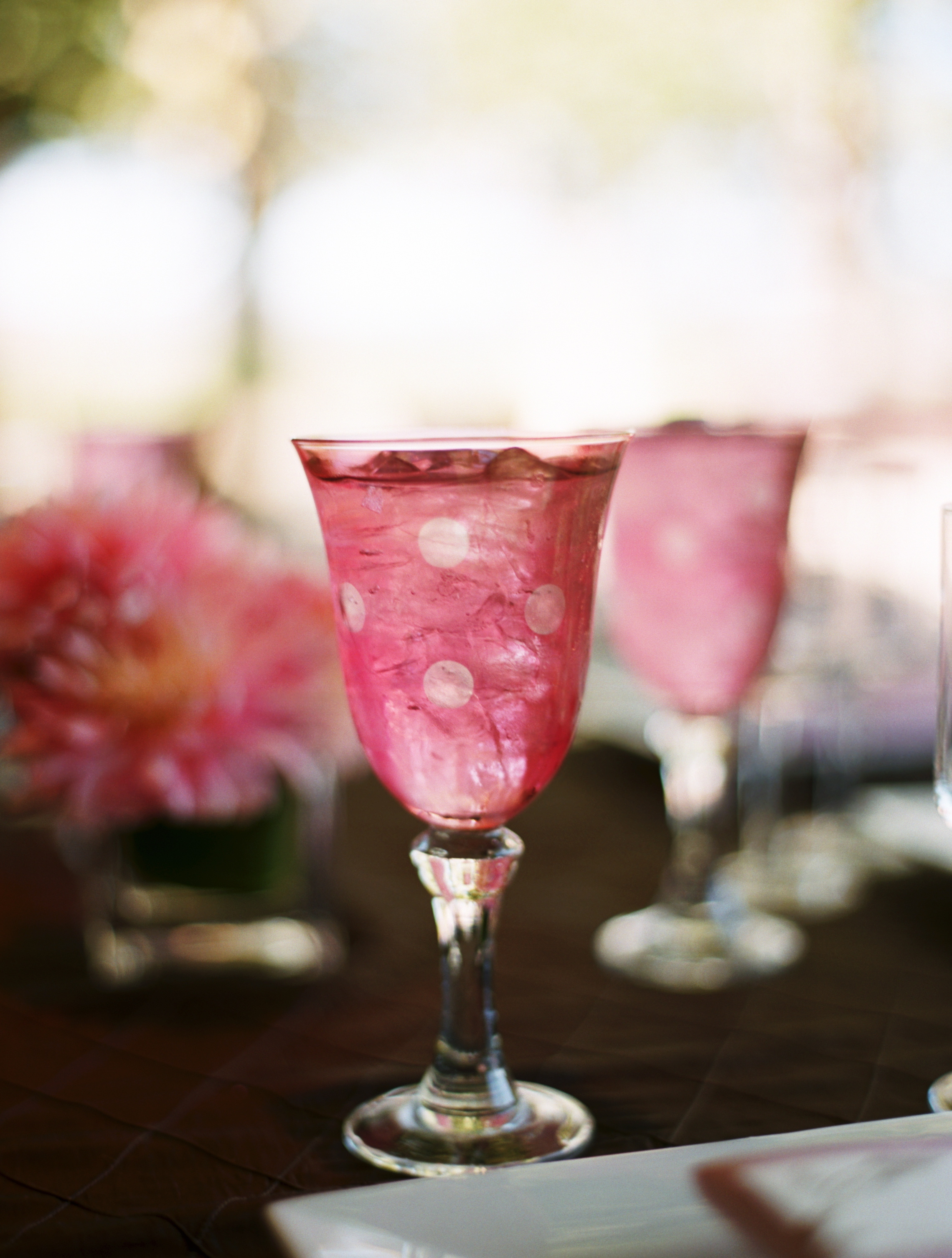 Reception, Flowers & Decor, Decor, Registry, pink, brown, Vineyard, Drinkware, Wedding, And, Glasses