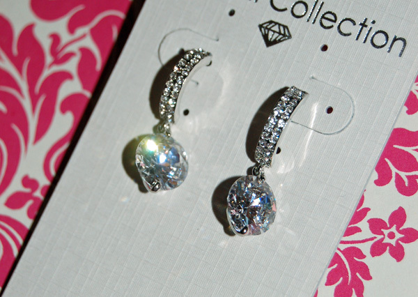 Jewelry, Earrings, Crystal, Drop, Rhinestone, Bling