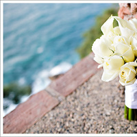 white, Roses, Bouquet, Lily, Cala, Mieng saetia photography
