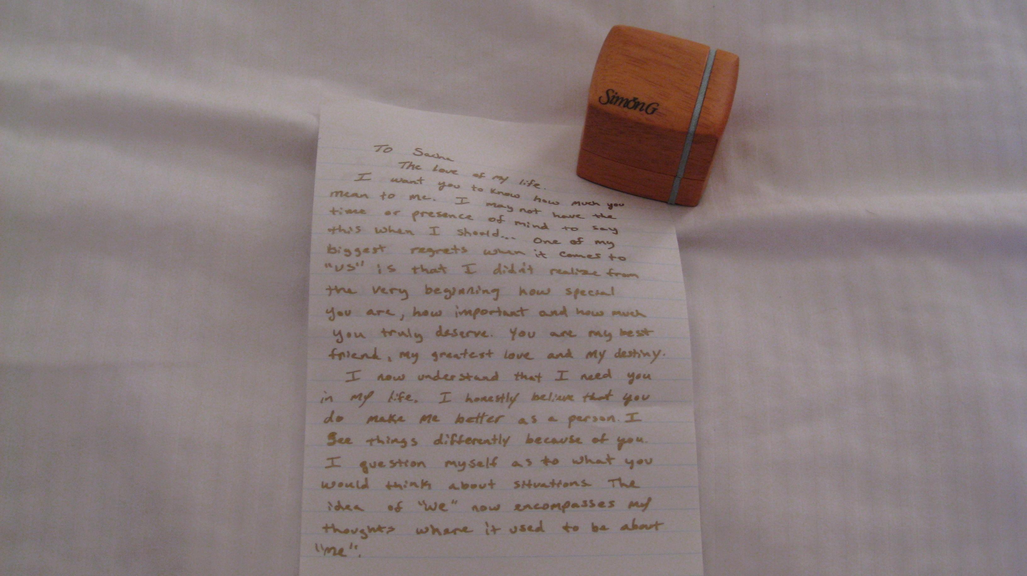 Ring, Proposal