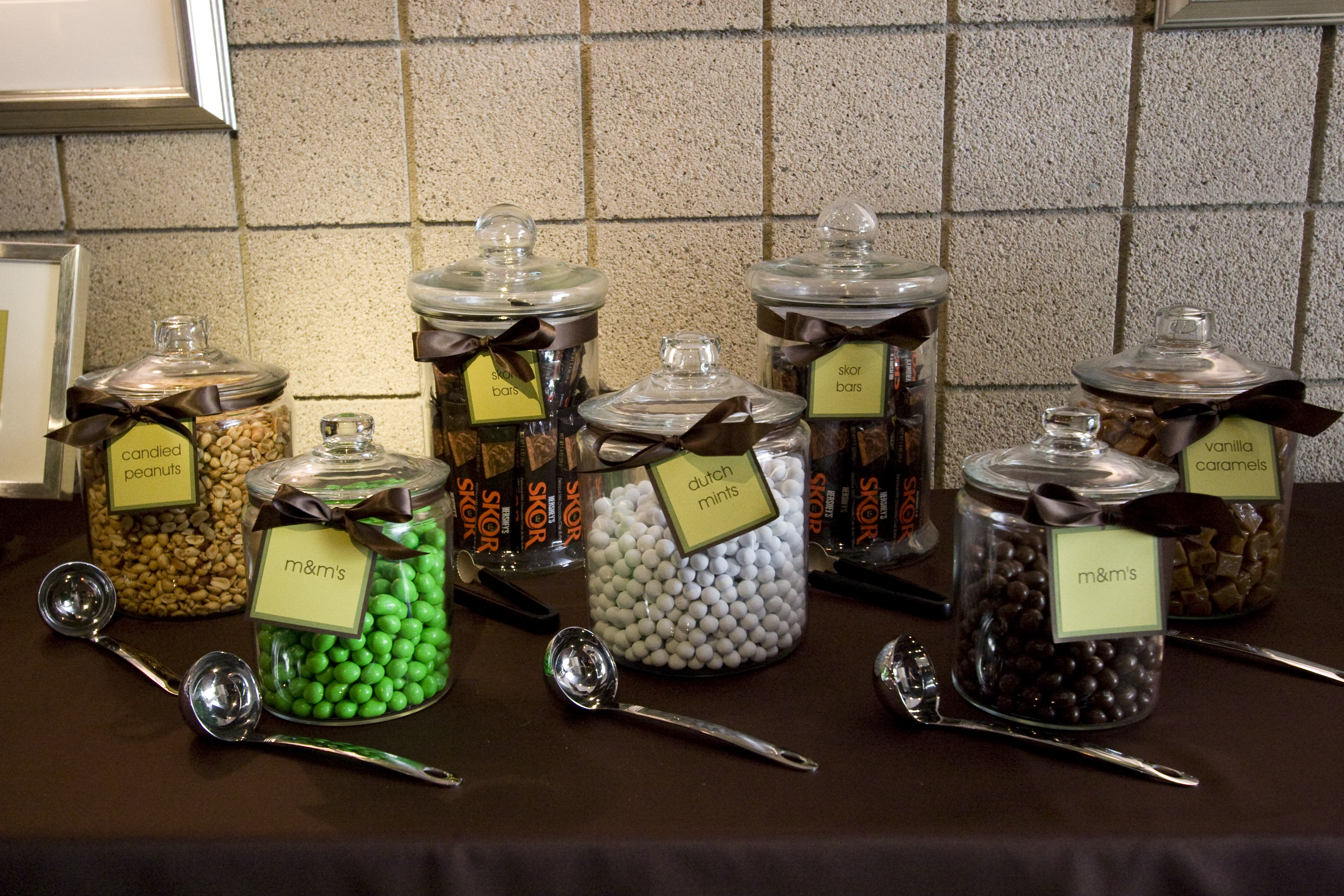 Dessert, Candy, llc, Bar, Jars, Suzanne the party girl