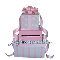 Reception, Flowers & Decor, pink, silver, Modern, Bride, Custom, The, Box, Envelope, Card, Money, Holder, Light, For the modern bride - we think outside the, Boxfor