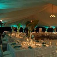 Draping, Tent, Uplighting, Chandeliers, Jennifer j events