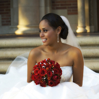 Flowers & Decor, Wedding Dresses, Fashion, red, dress, Flowers, Flower Wedding Dresses