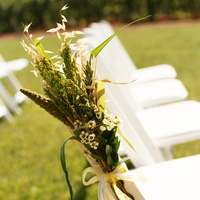 Flowers & Decor, green, Ceremony Flowers, Aisle Decor, Rustic Wedding Flowers & Decor, Summer Wedding Flowers & Decor