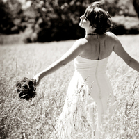 Beauty, Flowers & Decor, Wedding Dresses, Fashion, dress, Bride Bouquets, Summer, Bride, Outdoor, Flowers, Hair, Art, Fine, Field, Imaginative studios, Flower Wedding Dresses, Summer Wedding Dresses